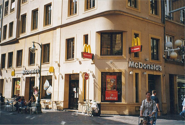 France : MAC DONALD'S – Metz – France