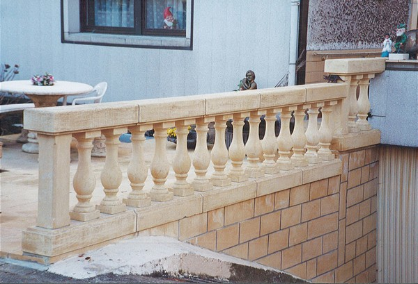 Amenagements exterieurs : Balustrades